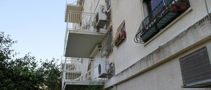מרפסות תלויות ברחוב חטיבת עודד חיפה